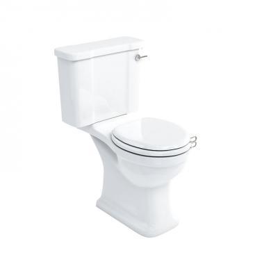 Toalett med Mjukstängande sits
