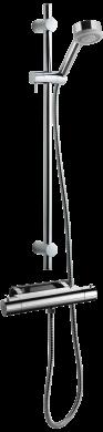Dusch- och Badkarsblandare EVM022-160 + ZSAL105 Krom