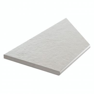 Z Concrete Easy Light Grey Pool Inner Corner Left