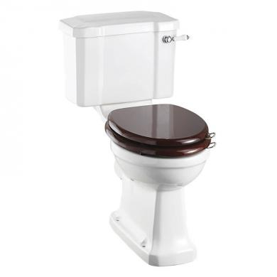 Toalett med Mjukstängande sits, Rimless
