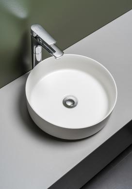 Tvättställ CIRCLE Matt Ø360 mm
