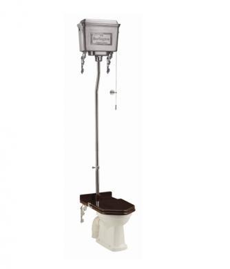 Högspolande Toalett, Aluminiumcistern inkl. Tronsits