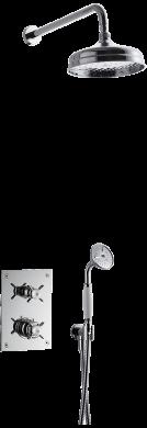 Takduschset BOX0268 Classic Edition 2 för inbyggnad