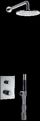 Takduschset BOX7268 Edition 2 för inbyggnad
