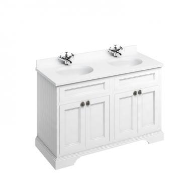 Fristående Tvättställsskåp med Luckor eller Lådor 130