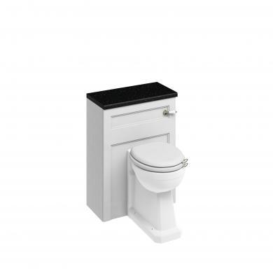 Inbyggda Möbler: Back-to-Wall WC-enhet, Tronmodell