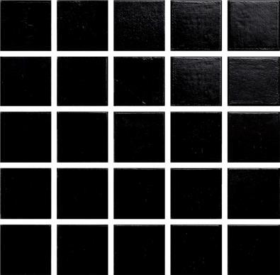 A0100 Glasmosaik Svart
