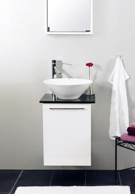 Tvättställsskåp UNO Vit