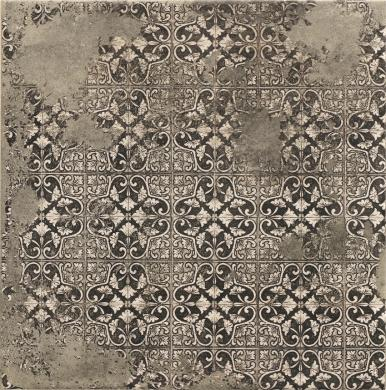 Queen antracit dekor 33x33