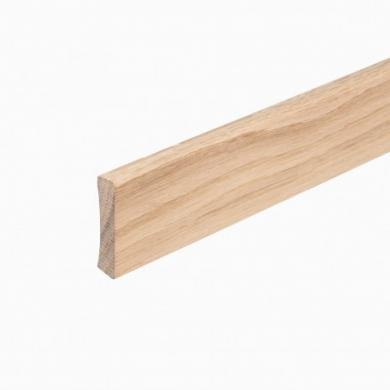 Golvsockel Ek Obehandlad 12x56 mm