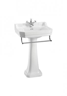 Tvättställ Edwardian med Handduksstång & Standardpiedestal