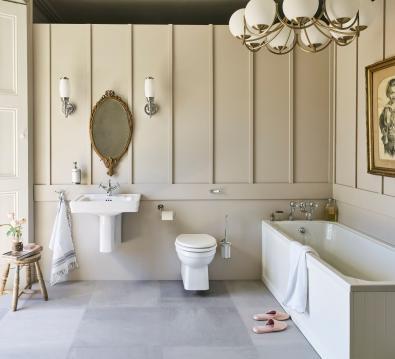 Arundel Cleargreen Badkar med Paneler 170 x 70