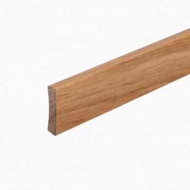 Golvsockel Ek Mattlack 12x56 mm