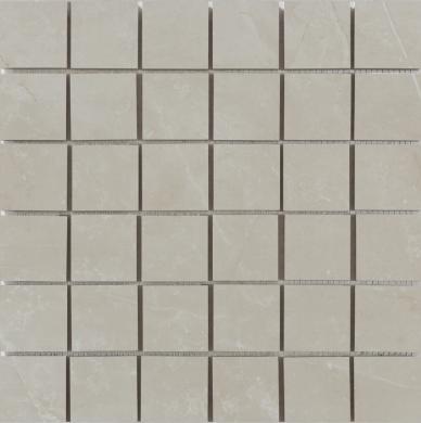 Scarlet marfil mosaik 5x5 matt