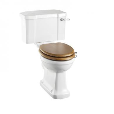 Toalett med Mjukstängande sits, Förhöjd