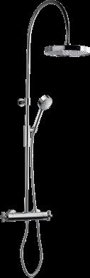 Takduschset TAP7300-150 Krom